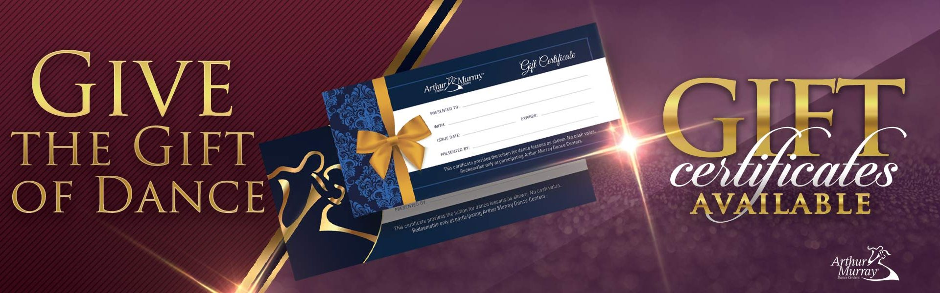 Arthur Murray Baltimore Gift Certificates